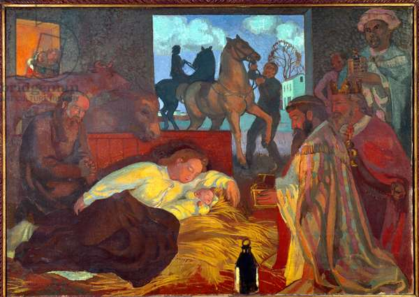 Adoration of the Magi, 1904 (oil on canvas)