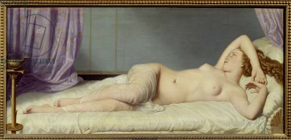 Psyche Painting by Eugene Amaury Duval (1808-1885) 1867 Riom, Musee Francisque Mandet