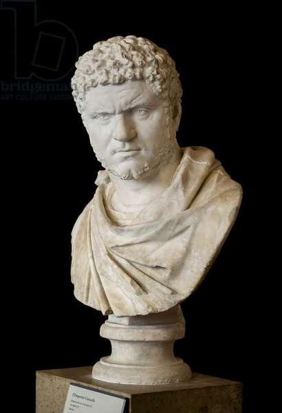 Caracalla (188 - 217 AD) marble Roman art