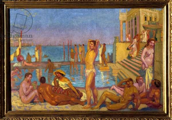 The Captives, 1907 (oil on canvas)