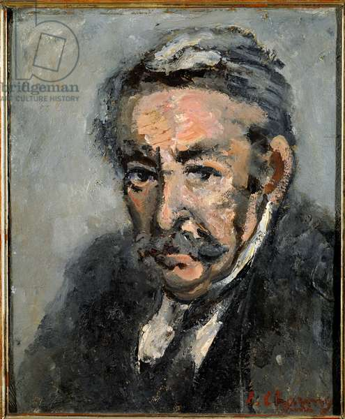 Portrait of Aristide Briand (1862-1932) Chairman of the Council Painting by Emilie Charmy (1878-1974) 1932 Sun. 0,46x0,38 m Versailles, Musee du chateau