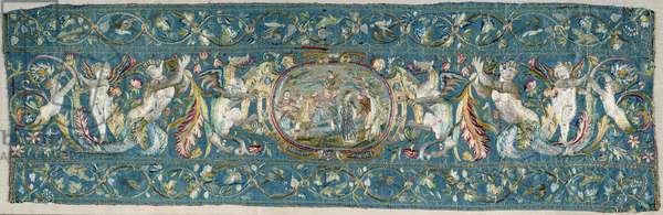 Table Runner 16th century Enouen National Renaissance Museum