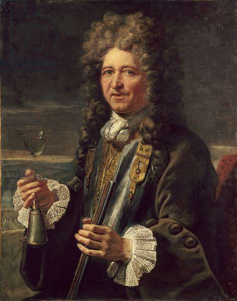 Portrait of Sebastian the Prestre lord of Vauban (1633-1717), marechal of France. Anonymous painting of the French school. Versailles. Musee Du Chateau - Portrait of Sebastien le Prestre, Lord of Vauban (1633-1717), Marshal of France. Anonymous painting of the English School. Catsle Museum, Versaillles, France