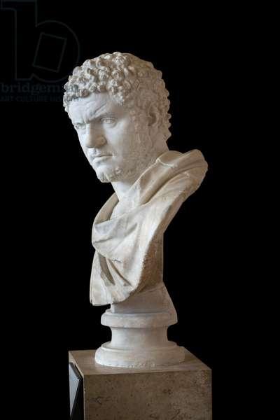 Caracalla (188 - 217 AD) marble, Roman art
