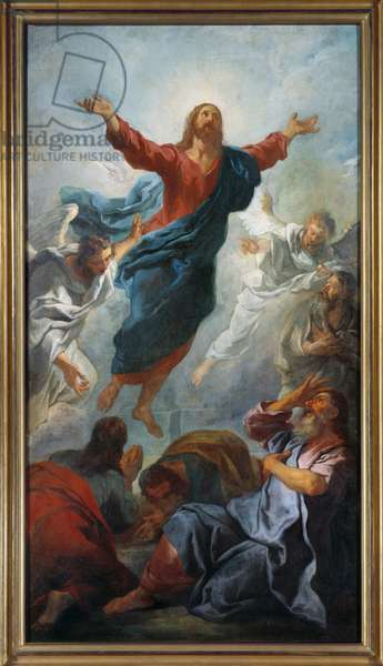 The ascent. Painting by Jean Francois De Troy (1679-1752), 1721. Oil on canvas. Dim: 1,83 x 1,13m. Rouen, Museum of Fine Arts
