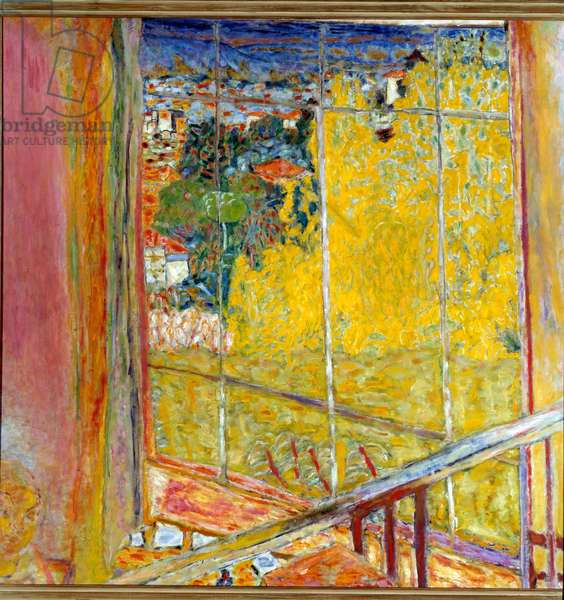The workshop at the mimosa Painting by Pierre Bonnard (1867-1947) 1939-1946. Paris, National Museum of Modern Art, Georges Pompidou Centre