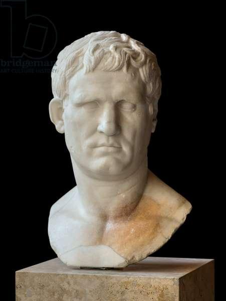 Art Rome Bust d Agrippa (ca. 64 BC - 12 BC) marble