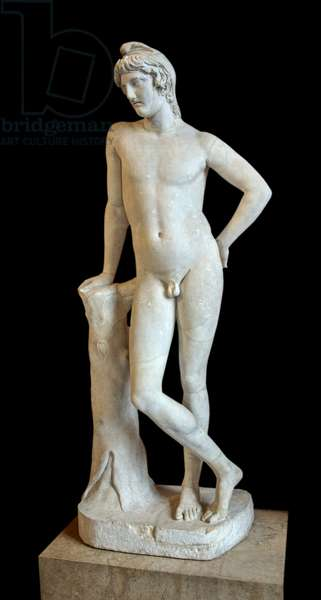 Art Grece Paris called Paris de Lansdowne, beginning of the 2nd century AD, marble