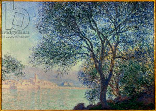 Antibes, view of the Salis Painting by Claude Monet (1840-1926) 1888. Dim. 0.65 x 0.92 m. Private collection