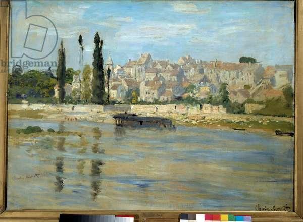 Careers. Saint-Denis. Painting by Claude Monet (1840-1926), 1872. Oil on canvas. Dim: 0.61 x 0.81m. Paris, Musee d'Orsay.