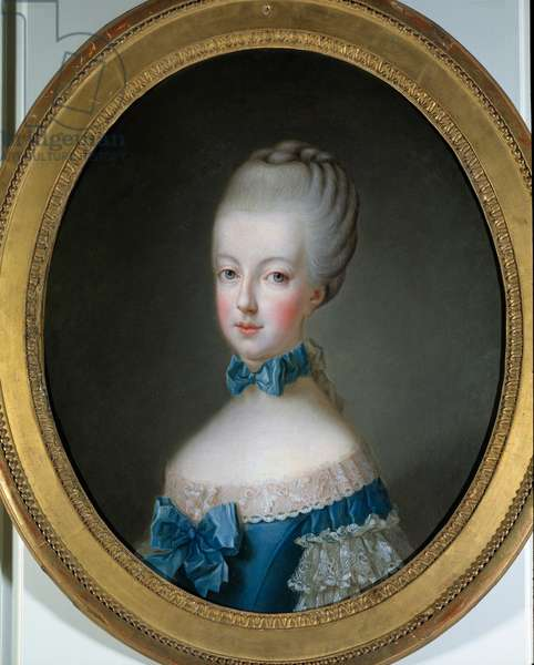 Portrait of Marie Antoinette (1755 - 1793) Queen of France. Painting by Jean Baptiste Charpentier (1728-1806), 1770. Oil on canvas. Dim: 0,64 x 0,52m.
