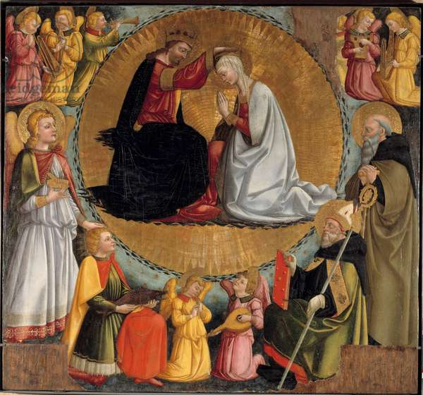 The Coronation of the Virgin Altarpiece, 14th century (painting)