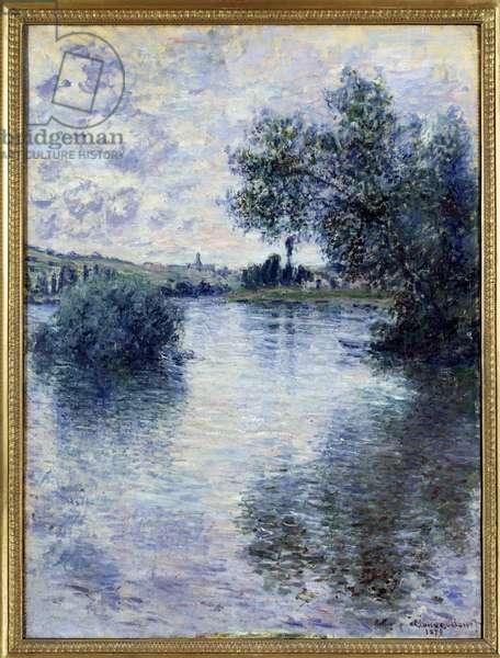 Vetheuil Painting by Claude Monet (1840-1926) 1879 Sun. 0,8x0,6 m Rouen, musee des Beaux Arts