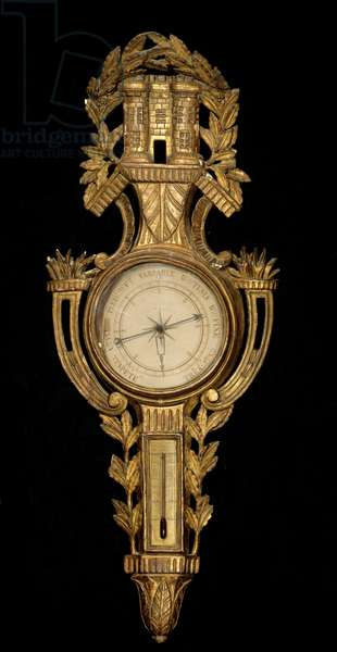Barometer. French Manufacture, 18th century. Paris, Musee Carnavalet