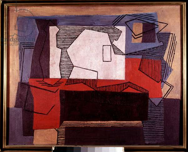 Still Life Painting by Pablo Picasso (1881-1973) 1922 Sun. 0,73x0,92 m Paris, Musee Picasso