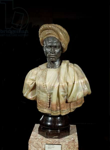 Negre du Sudan Sculpture in bronze and onyx by Charles Cordier (1827-1905) 1857 Paris, Musee d'Orsay.