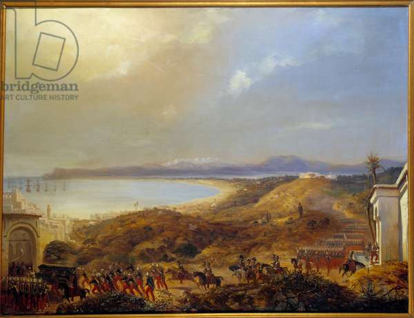 The French army entered Algiers on July 5, 1830. Painting by Eugene Flandrin (1809-1876), 1839. Oil on canvas. Dim: 0.66 x 0.87m.
