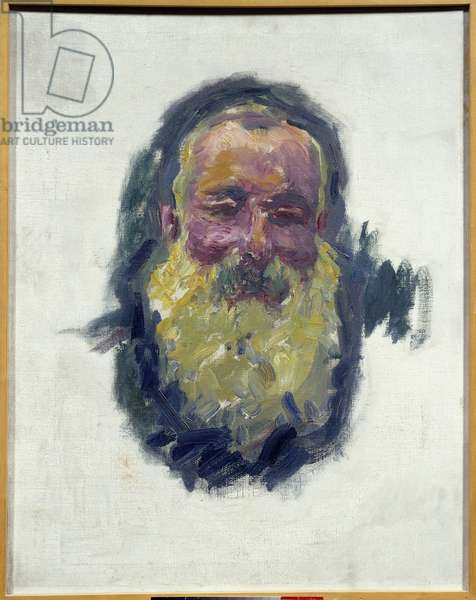 Portrait of the artist, 1917. 0.70 x 0.55 cm. Painting by Claude Monet (1840-1926). Musee d'Orsay