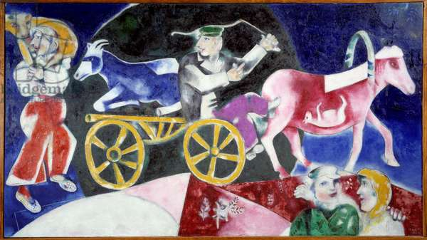 The cattle dealer, 1922 (oil on canvas)