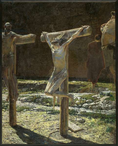 Calvary between 1831 and 1894 (oil on canvas)