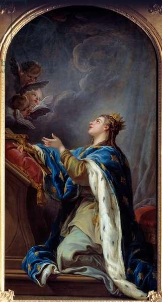 Saint Jeanne de France (oil on canvas)