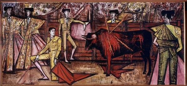 Corrida, 1966 (oil on canvas)