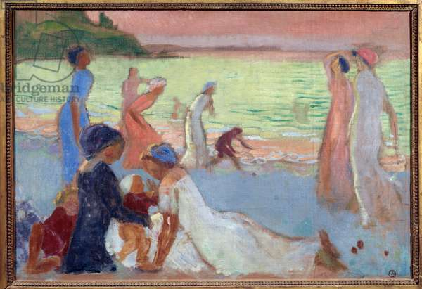 Evening of September Painting by Maurice Denis (1870-1943) 1911 (huile sur toile)