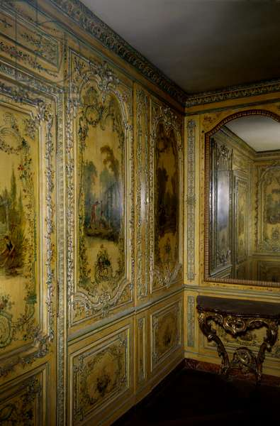 View of the apartment of the Dauphine Marie Josephe of Saxony (1731-1767), 1747. Versailles. Musee du Chateau.