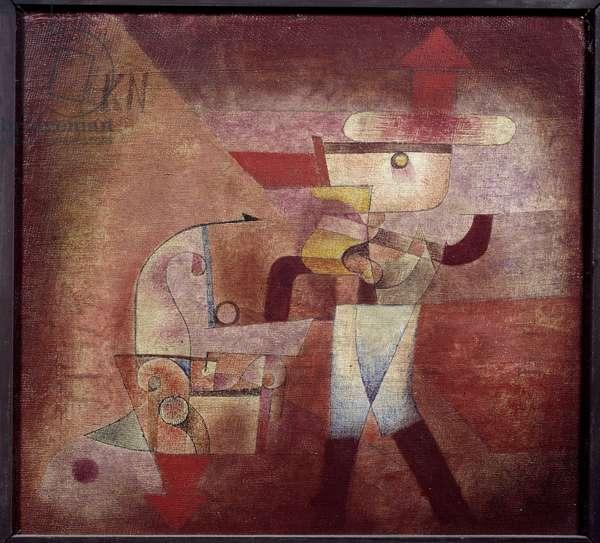 The Blacksmith, 1922 (oil on canvas)