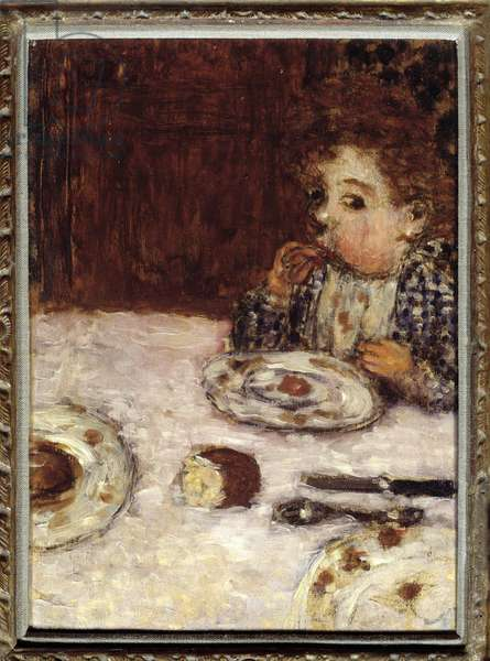 The Child Who Lunched, 1895 (oil on canvas)