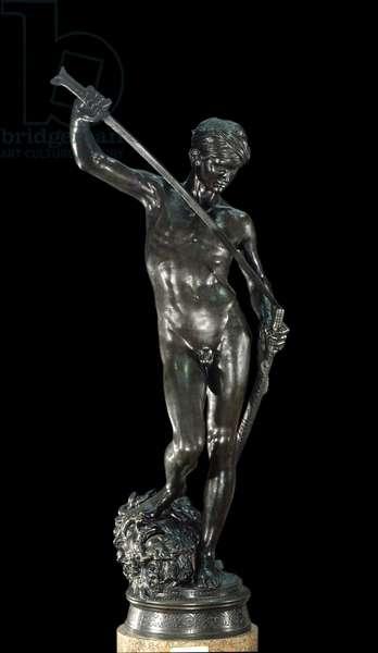 David Bronze Sculpture by Antonin Mercia (1845-1916) Paris, Musee d'Orsay