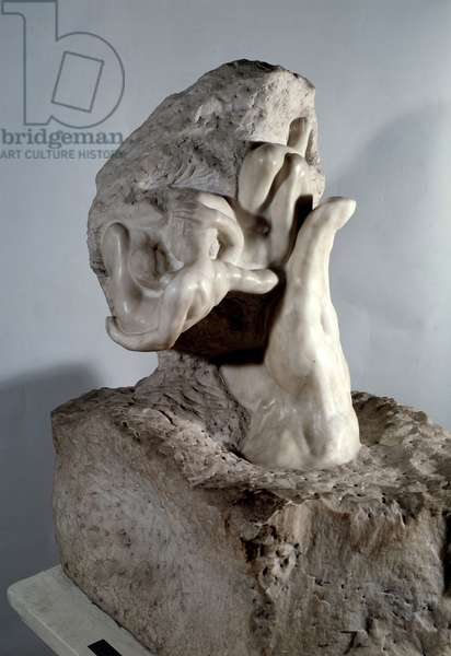 The Hand of God Marble sculpture by Auguste Rodin (1840-1917) 20th century Paris, Musee Rodin