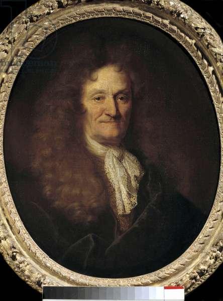 Portrait of Jean de la Fontaine (1621-1695) by