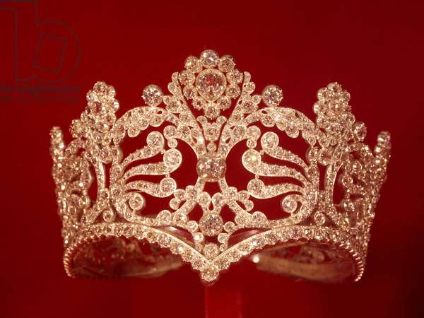 The diademe (crown) of the Impress Josephine de Beauharnais (Marie-Joseph-Rose de Tascher de la Pagerie) (1763-1814). 1804-1809. Private collection