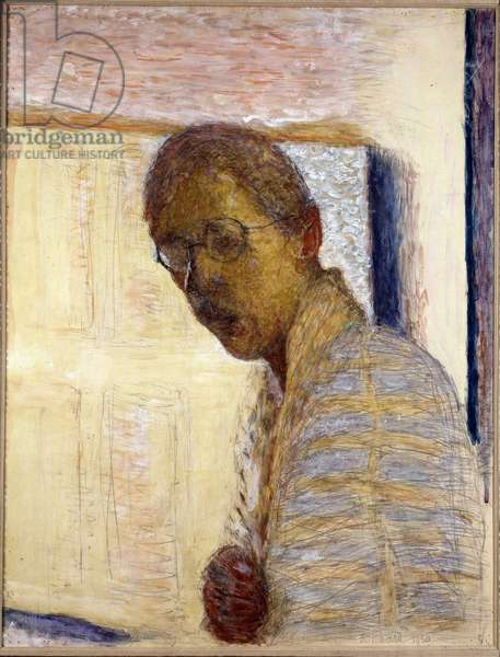 Self-Portrait - 1930 (gouache and pencil on paper)
