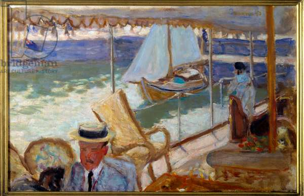 By yacht, 1912 (oil on canvas)