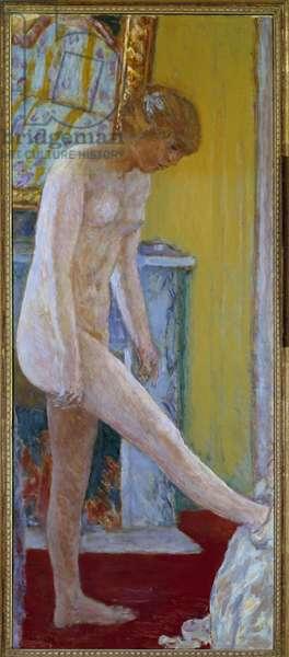 Nu Painting by Pierre Bonnard (1867-1947) 20th century Paris, municipal museum of modern art