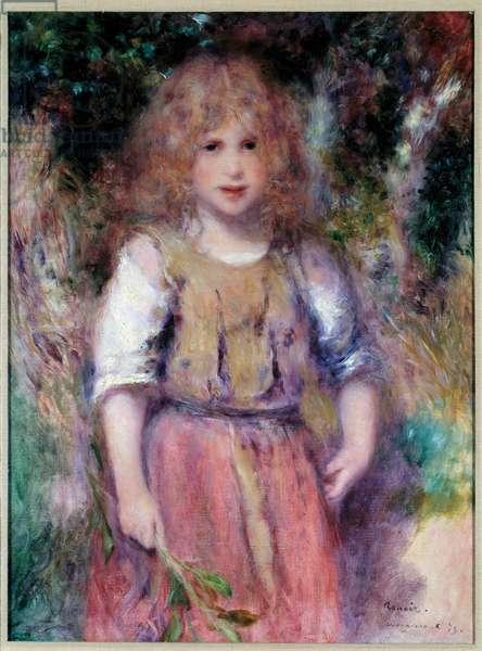 La petite bohemienne Painting by Pierre Auguste Renoir (1841-1919) 1879 Private collection