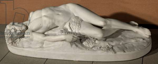 The Death of Abel, 1865 (Marble)