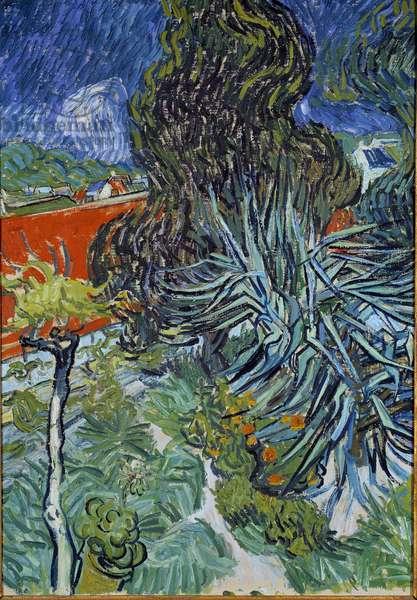 Le jardin du docteur Gachet à Auvers sur Oise (Auvers-sur-Oise) Painting by Vincent van Gogh (1853-1890) 1890 Sun. 0,73x0,52 m Paris, musee d'Orsay