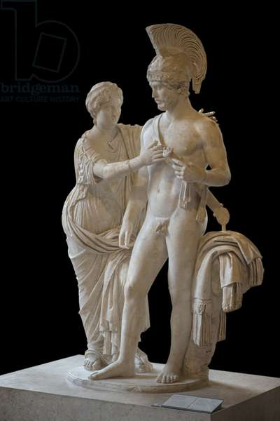 Art Rome Imperial Couple in March and Venus (between 120 and 140 AD) sculpture