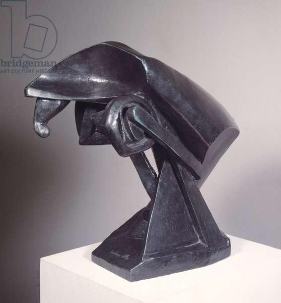 The horse. Sculpture by Raymond Duchamp dit Duchamp-Villon (Duchamp Villon) (1876-1918), 1914. Paris, Musee National D Art Moderne