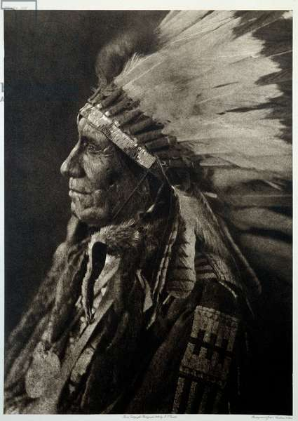 Indians of America: Portrait of Indian Chief