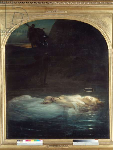 The young martyrdom , 1855 (oil on canvas)