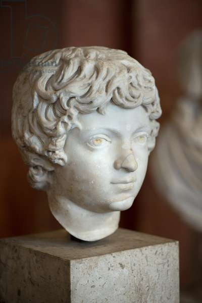 Art Rome Head of the Roman Emperor Caracalla Child (188 - 217 AD)