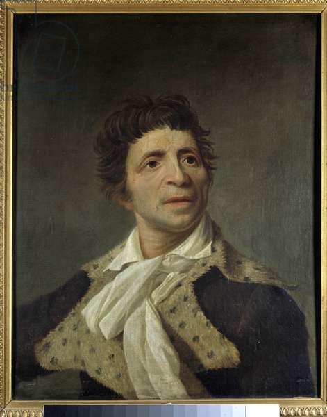 Portrait of Jean Paul Marat (1743-1793). Painting by Joseph Boze (1745-1826). 1793. Dim. 0,59 x 0,48 m Musee Carnavalet, Paris. - Portrait of Jean Paul Marat (1743-1793), French politician. Painting by Joseph Boze (1745-1826). 1793. 0.59 x 0.48 m. Carnavalet Museum, Paris