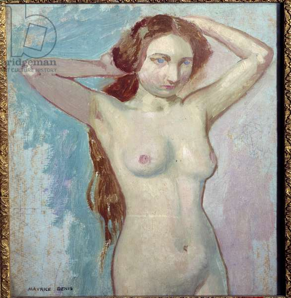 Nude Hairdressing, 1900 (oil on canvas)