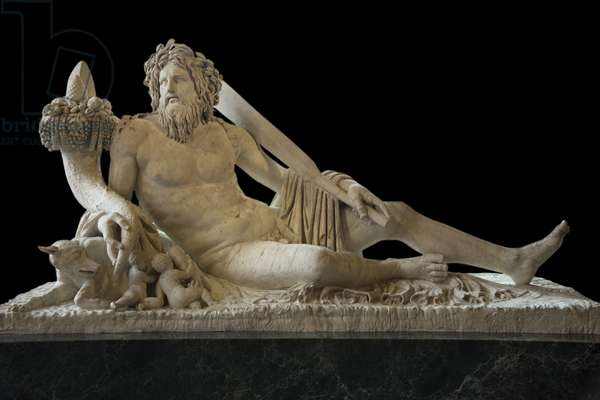 Art Rome The Tiber (Sculpture)