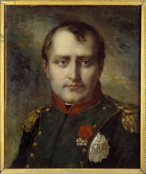 Last portrait of Napoleon I (1769-1821) during the Hundred Days Painting attributed to Pierre Paul Prud'hon (1758-1823) 1815 Private collection - Last portrait of Napoleon I (1769-1821) during the Hundred Days. Painting attributed to Pierre Paul Prud'hon (1758-1823), 1815. Private collection