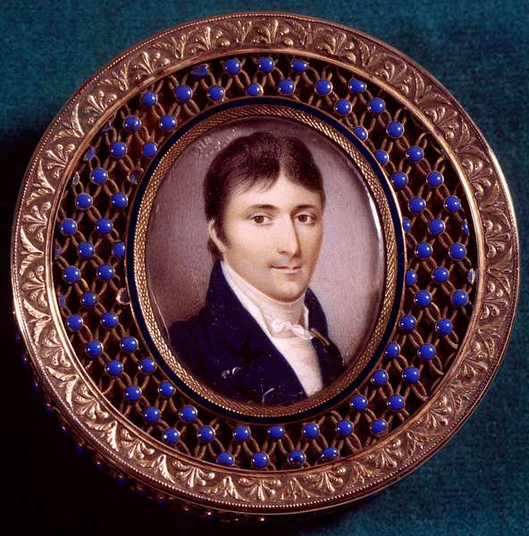Portrait of Lucien Bonaparte (1775-1840) Painting by Jean Baptiste Isabey (1767-1855), 19th century. Private collection